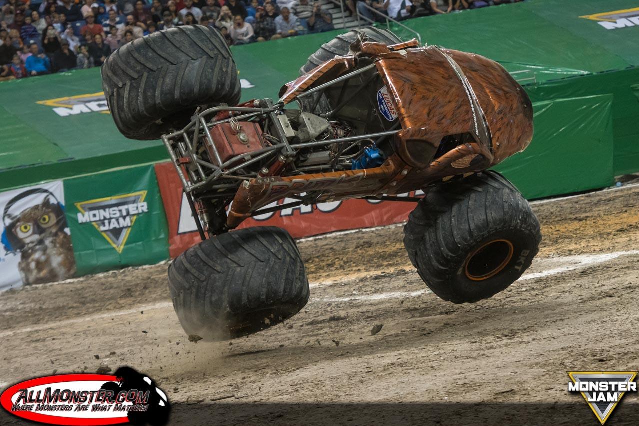 San Antonio Monster Jam 2017 Team Scream Racing