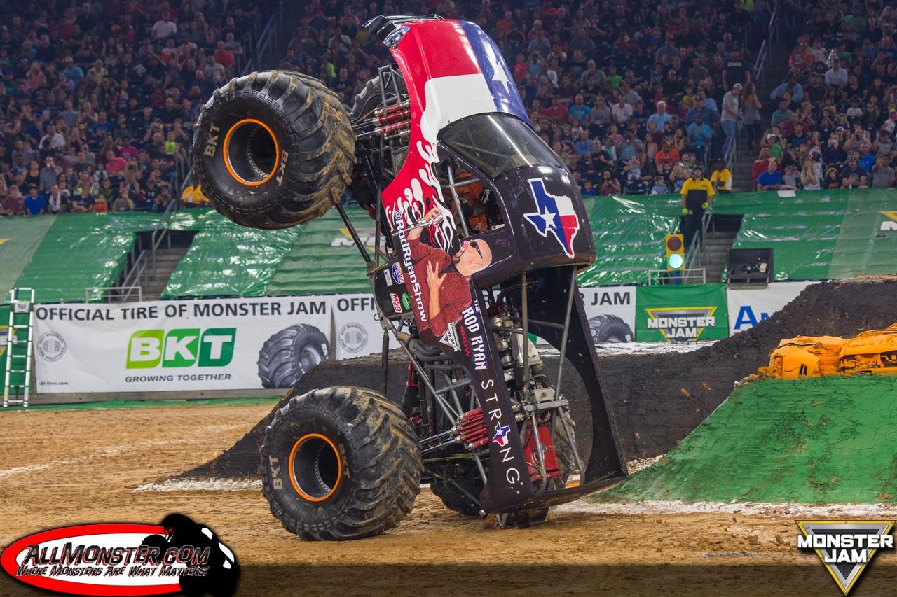 Rod Ryan Show - Team Scream Racing - Houston Monster Jam 2017