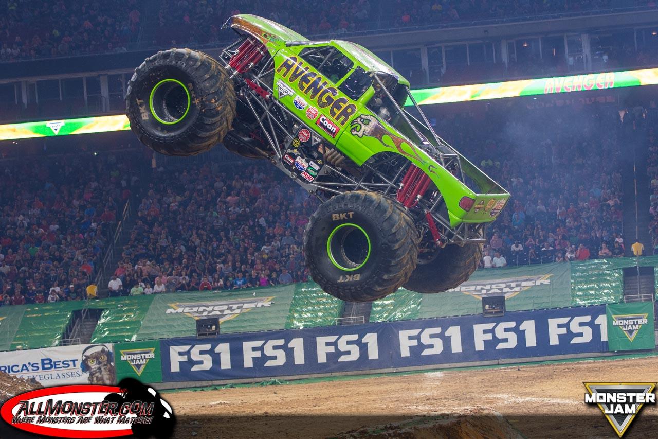 Avenger - Team Scream Racing - Houston Monster Jam 2017