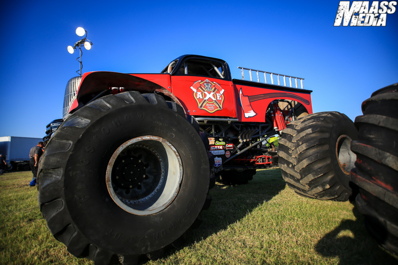 Axe Monster Truck Debut