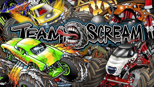Team Scream Racing Header
