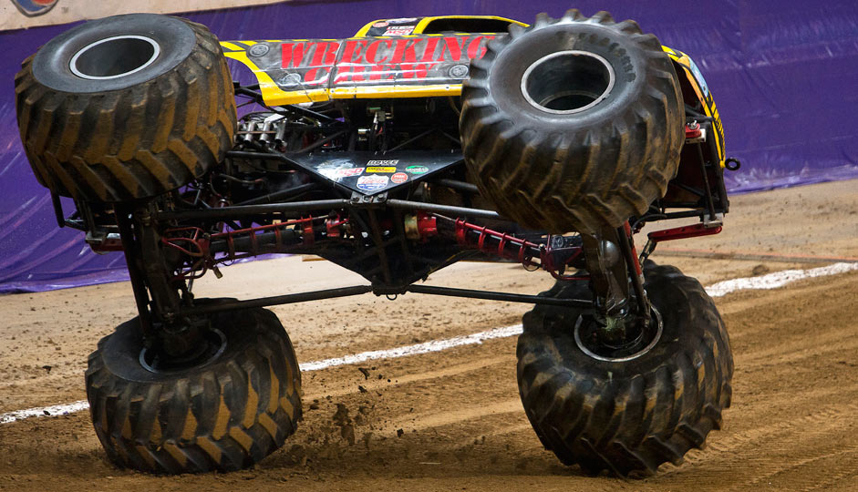 Team Scream Racing - St Louis Monster Jam 2015