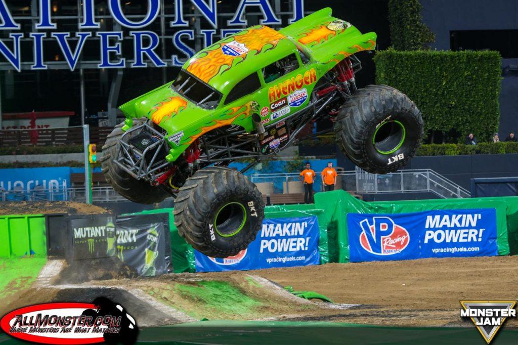Team Scream Racing - Avenger - San Diego Monster Jam 2018