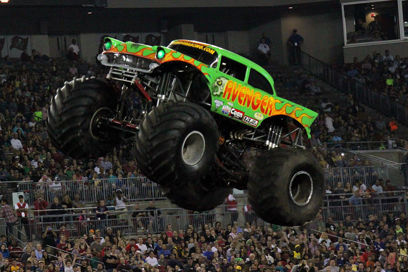 Team Scream Racing - Tampa Monster Jam 2014