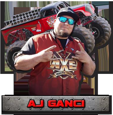 AJ Ganci - Axe Monster Truck