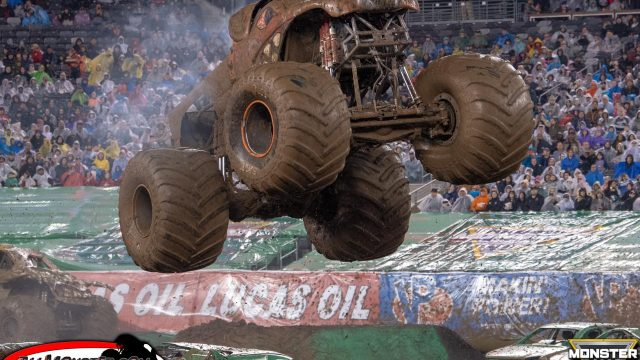 Brutus Monster Truck - East Rutherford Monster Jam 2018